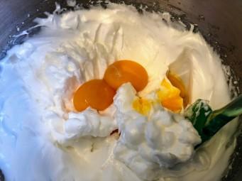 מקפלים חלמונים לקצף הביצים