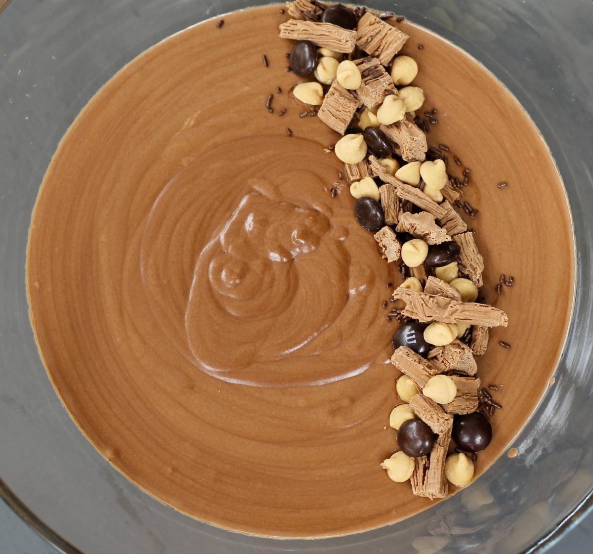 הפרוייקט של רביבה - מוס שוקולד קלאסי ואלוהי
